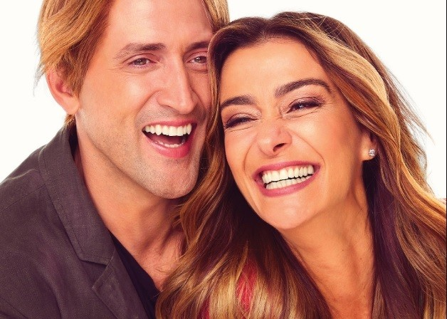 Paulo Gustavo e Mônica Martelli (Foto: Divulgação)