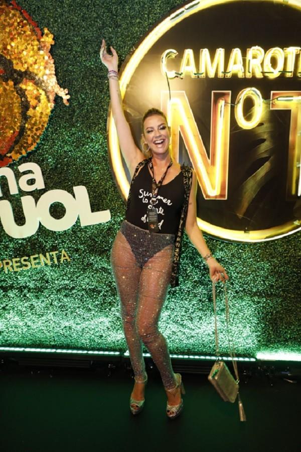 Luana conta que o marido gosta dela mais cheinha  (Foto: Felipe Panfili/CamaroteNº1)