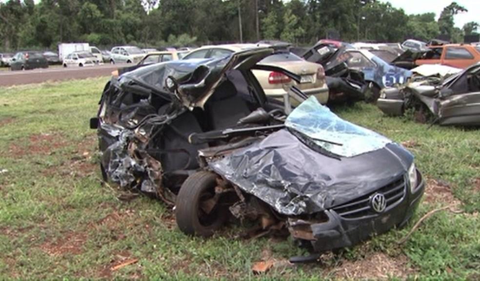 Homem é condenado a 22 anos por provocar acidente para matar ex-namorada, em Cascavel — Foto: Reprodução/RPC