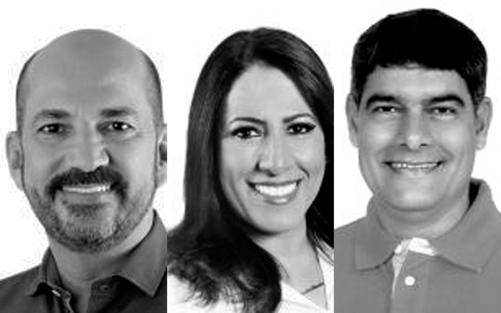 José Robério Batista de Oliveira, Claudia Oliveira e Agnelo Santos são investigados pela Operação Fraterno — Foto: Divulgação
