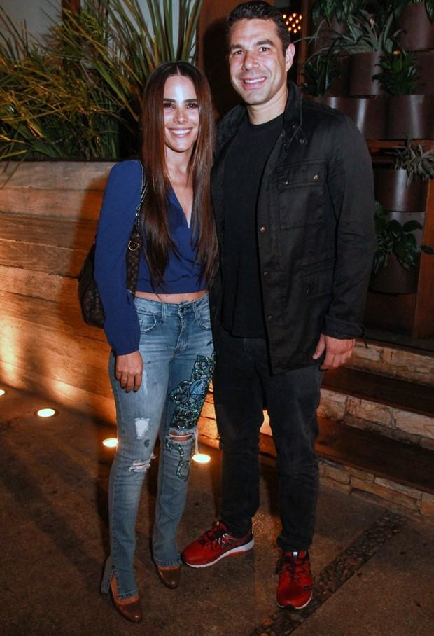 Wanessa Camargo e Marcus Buaiz (Foto: Taty Larrubia/Agnews)
