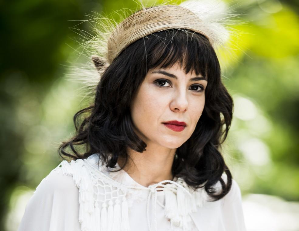 Andreia Horta como Lucinda (Foto: João Miguel Junior/TV Globo)