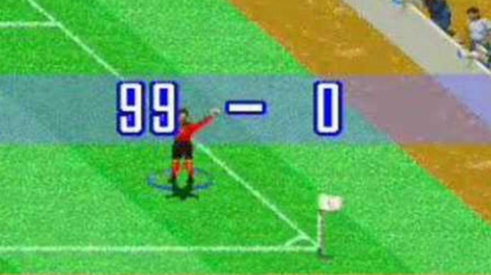 Curiosidades de International Superstar Soccer: o bug do gol de meio campo permitia placares elásticos ridículos — Foto: Reprodução / Thomas Schulze