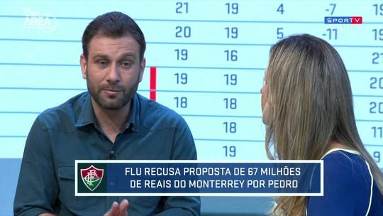 Comentarista analisa importância de Pedro para sequência do Fluminense
