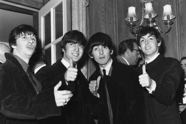 Ringo Starr, John Lennon, George Harrison e Paul McCartney (Foto: Getty Images)