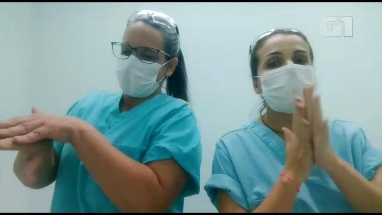 Funcionárias de hospital fazem paródia de hit de Iza e letra fala sobre o coronavírus