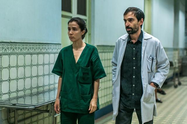 Cena da nova temporada de 'Sob pressão' (Foto: TV Globo)