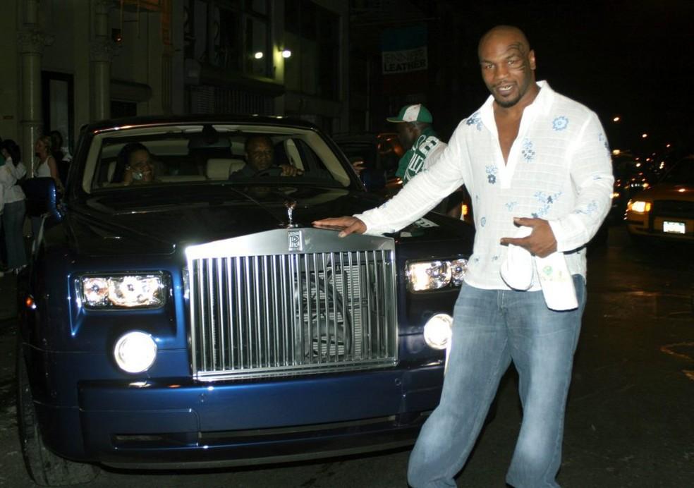 Mike Tyson já afirmou que Rolls-Royce é sua marca preferida  — Foto: Getty Images