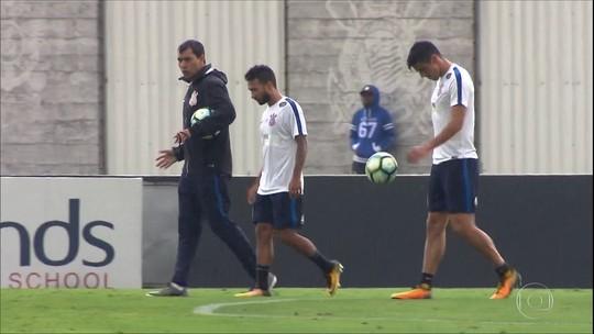 Carille faz duas mudanças no Corinthians em primeiro teste para o Dérbi
