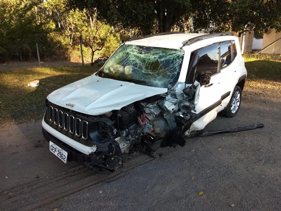 Acidente aconteceu na Rodovia Raimundo Antunes Soares (SP-079), que liga Votorantim a Piedade (Foto: Marcos Adão Nardo/Arquivo Pessoal)