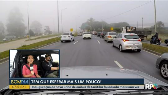 Inauguração da linha de ônibus que vai atravessar Curitiba pela Linha Verde é adiada mais uma vez