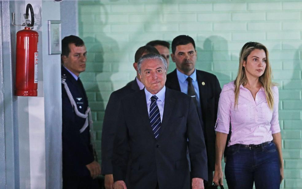 Temer deixa hospital em Brasília (Foto: Dida Sampaio/Estadão Conteúdo)