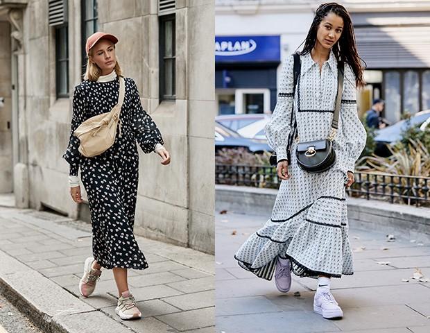 Na moda de rua, a combinação também é uma tendência do verão (Foto: Imaxtree)