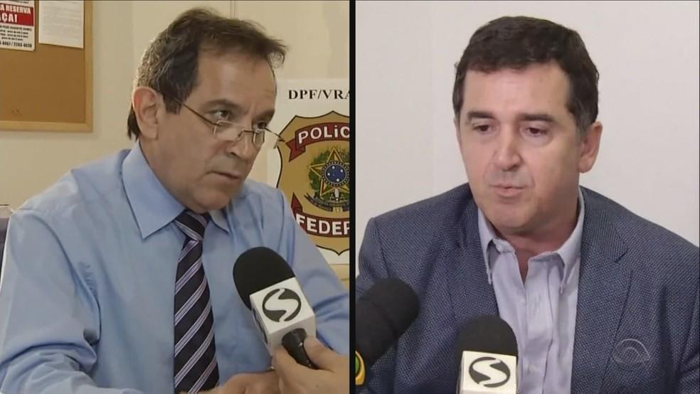 Delegados do RJ foram mortos em Florianópolis  (Foto: Reprodução/RBS TV)