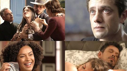 Daniel descobre nome da mulher de seus sonhos: 'Julia'. Veja o que vem por aí em 'Espelho da Vida'!