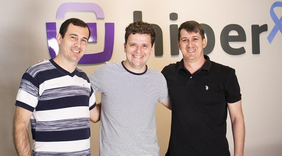 Fundadores da Hiper, startup de software de gestão para simplificar processos (Foto: Divulgação)