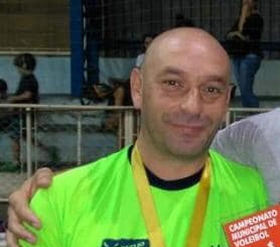Professor de educação física Vicente Caprioglio morre em acidente em Porto Ferreira — Foto: Reprodução redes sociais