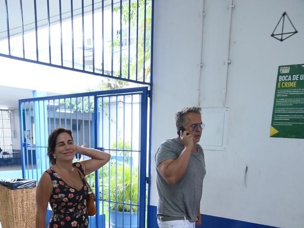Gloria Pires e Orlando Morais (Foto: AgNews)