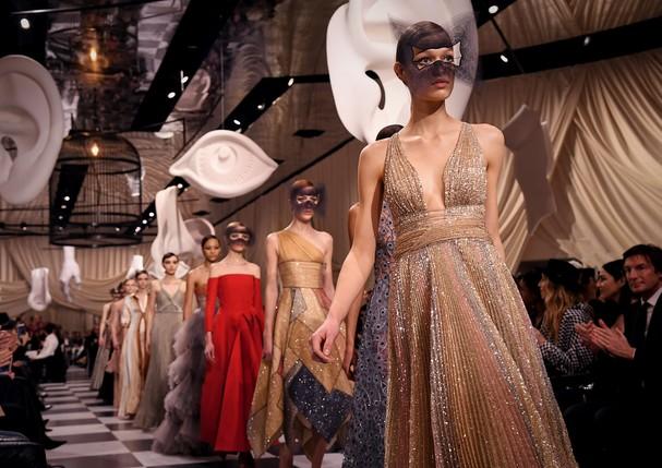 Desfile de alta-costura da Dior - verão 2018 (Foto: Getty Images)