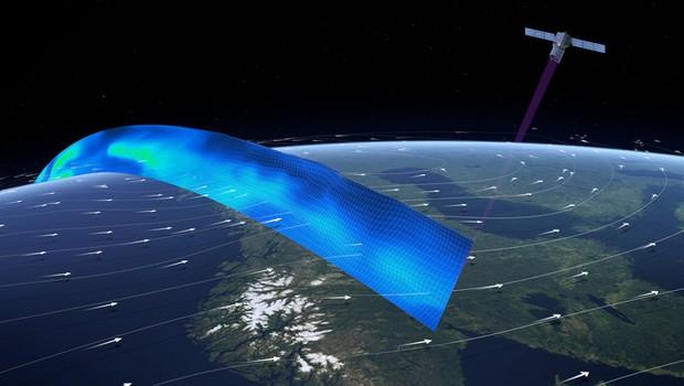 Missão ADM-Aeolus irá mapear os ventos do Planeta Terra (Foto:  ESA/ATG medialab)
