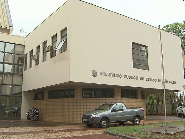 Laudo pericial foi apresentado ao Ministério Público em Ribeirão Preto (Foto: Reprodução/EPTV)