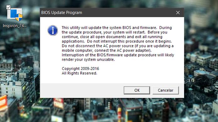 Como atualizar a BIOS de um notebook da Dell | Notebooks
