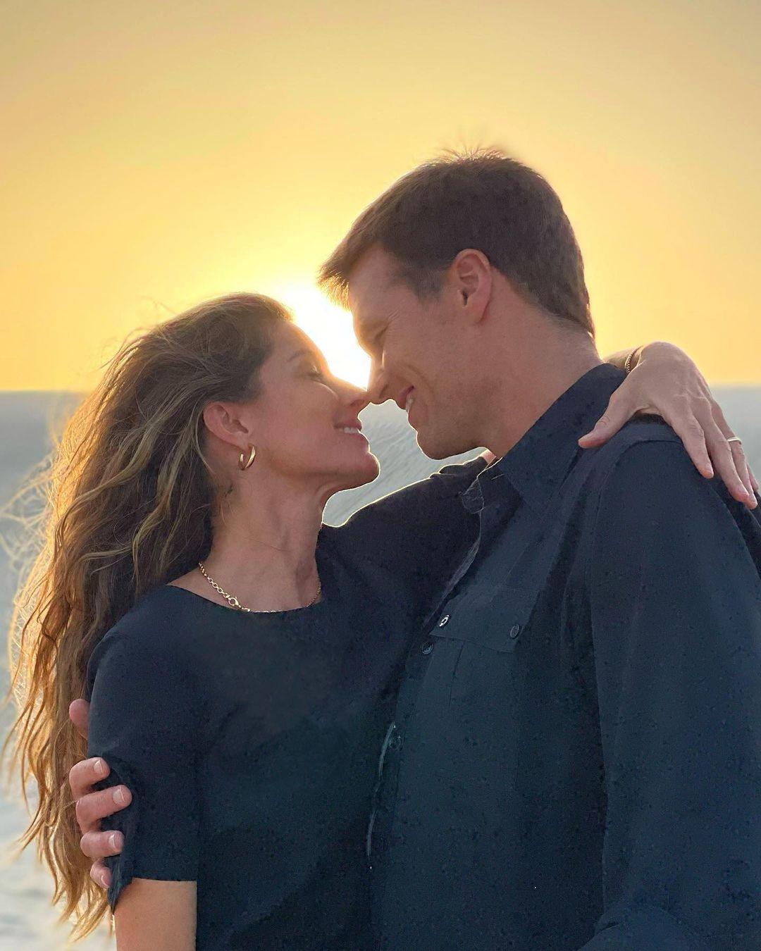 Gisele Bündchen posta no Dia dos Namorados com Tom Brady (Foto: Reprodução/Instagram)