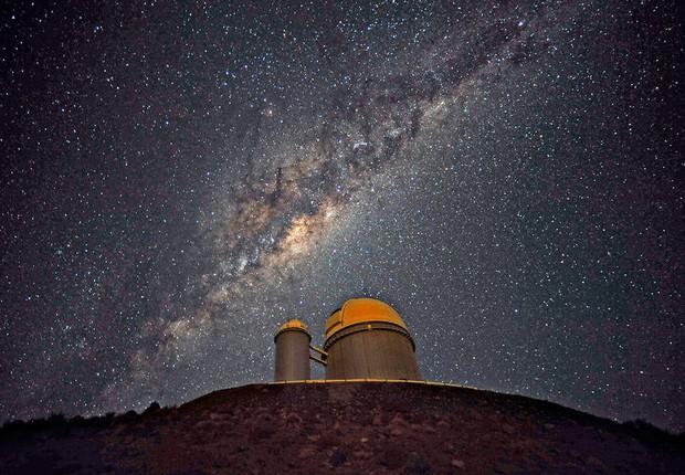 Telescópio no Chile (Foto: ESO/S. Brunier)