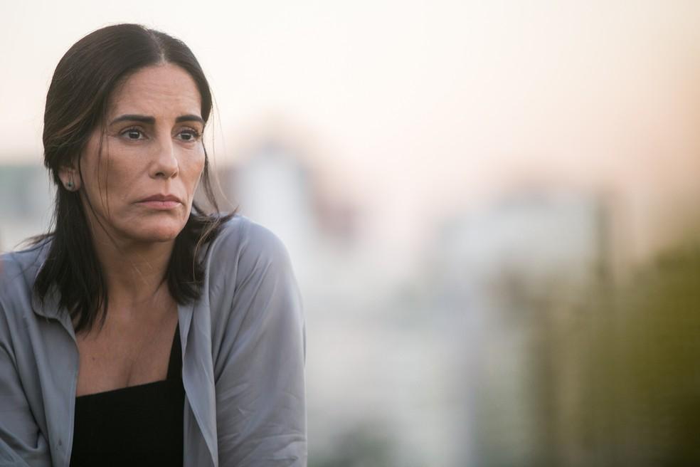 A personagem de Gloria Pires sofrerá reviravolta na trama. O que será? 👀 (Foto: Raquel Cunha/Divulgação )