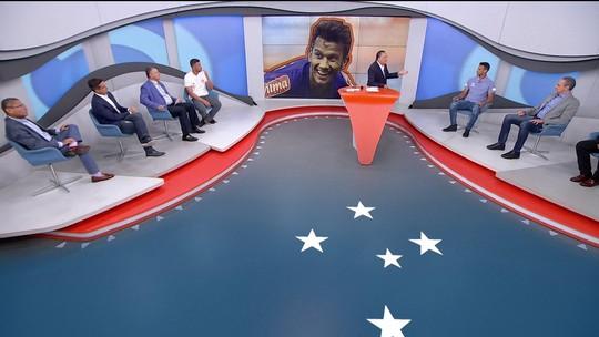 Comentaristas falam sobre carreira de Henrique, do Cruzeiro