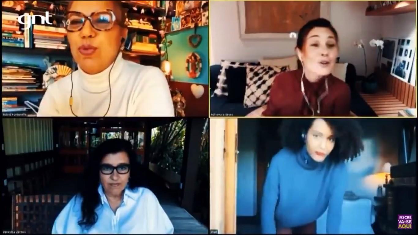 Adriana Esteves Astrid Fontenelle Regina Casé Tais Araújo