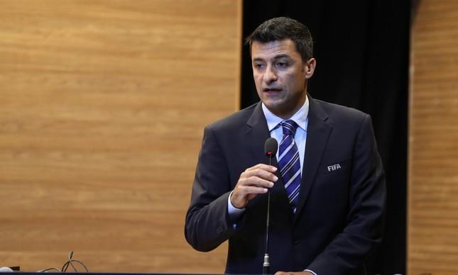 Sandro Meira Ricci, árbitro brasileiro na Copa do Mundo