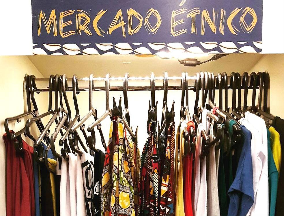 Roupas da marca brasiliense Mercado Étnico — Foto: Mercado Étnico/Divulgação