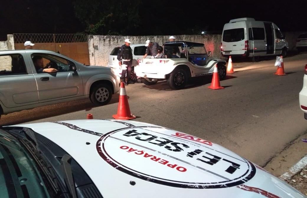 Operação da Lei Seca tem 42 motoristas autuados no Litoral potiguar