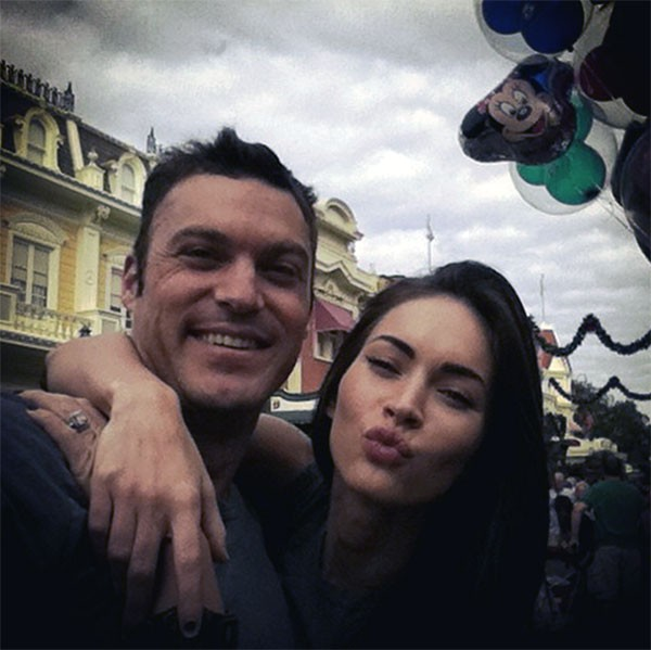 Megan Fox e Brian Austin Green (Foto: Instagram)