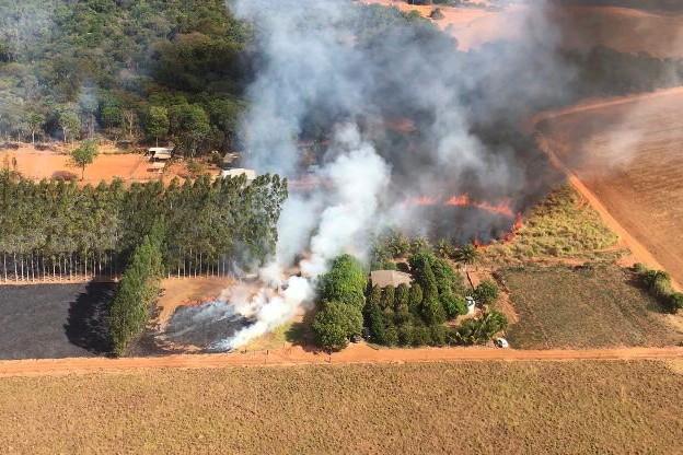 Pantanal tem o mês de julho com mais focos de incêndio desde início das medições feitas pelo Inpe