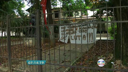Alunos mostram condições em que vão devolver prédio da Fernão Dias