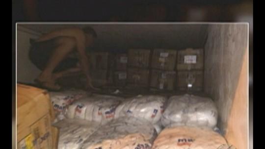 PRF apreende carga de camarão ilegal na BR-316, no nordeste do Pará