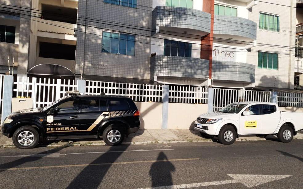 Operação da PF de combate a desvios de verba pública da saúde cumpre 9 mandados na BA — Foto: Divulgação/PF