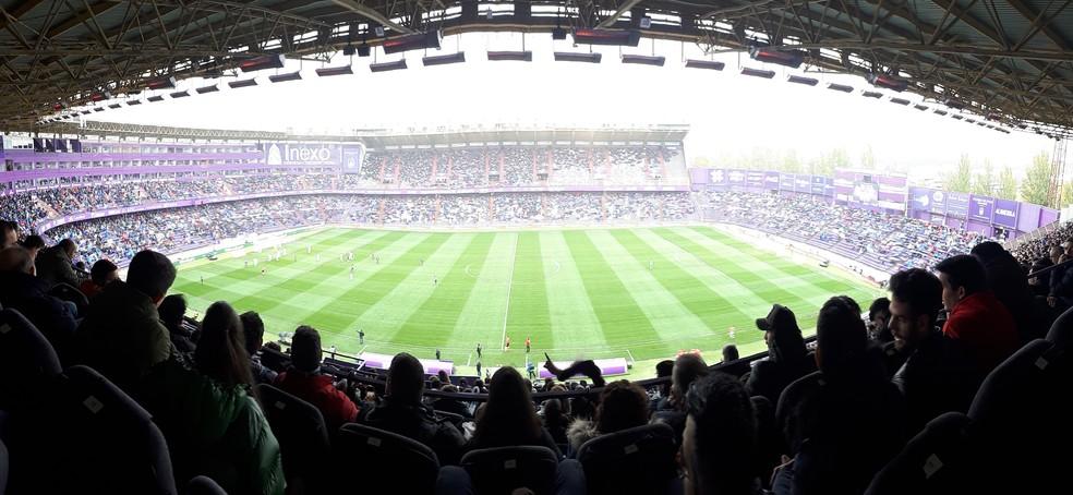 Estádio José Zorrilla, casa do Real Valladolid — Foto: Márcio Iannacca / GloboEsporte.com