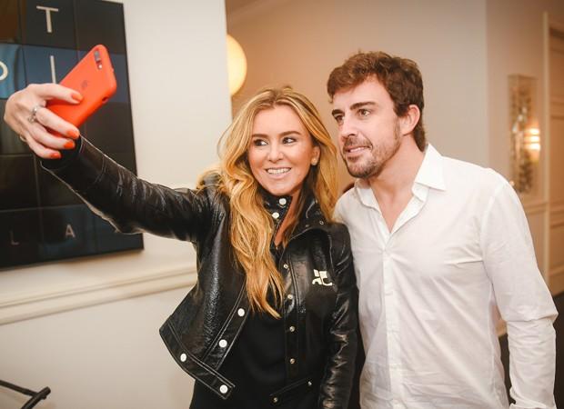 Gabriela Moreno e Fernando Alonso (Foto: Foto:  Divulgação)
