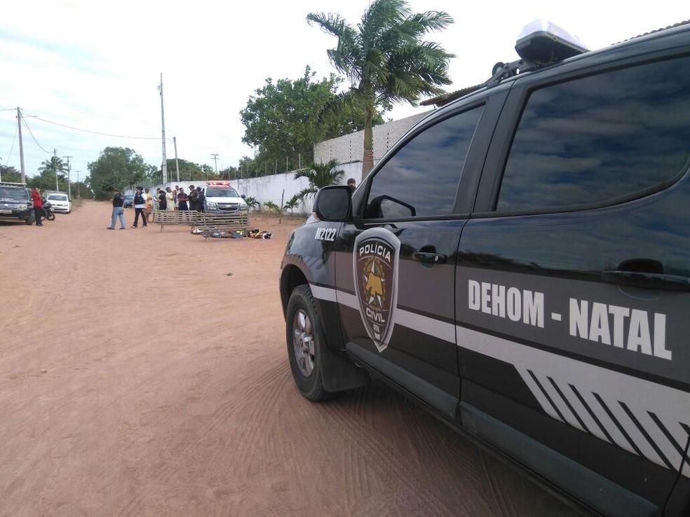 RN registra 1 mil homicídios de janeiro a 23 de junho, segundo o OBVIO (Foto: Flávio Muniz/ Inter TV Cabugi)
