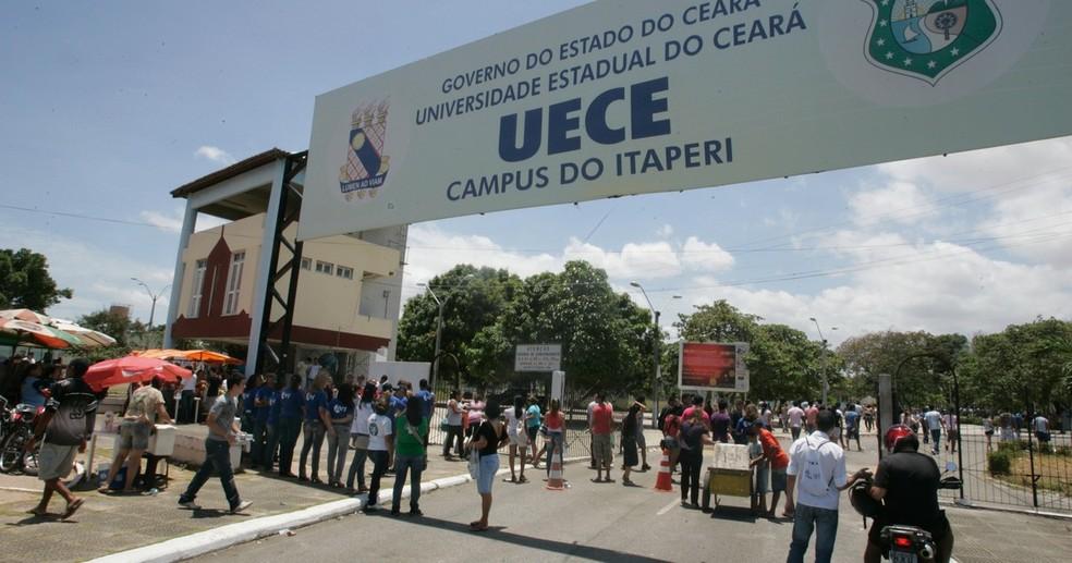 Campus do Itaperi da Uece — Foto: Divulgação/Uece