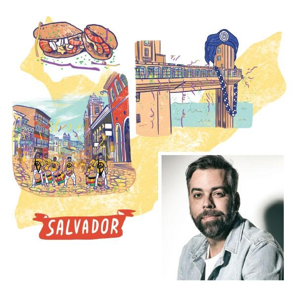 Salvador (Foto: Divulgação / Ilustração Lovatto)