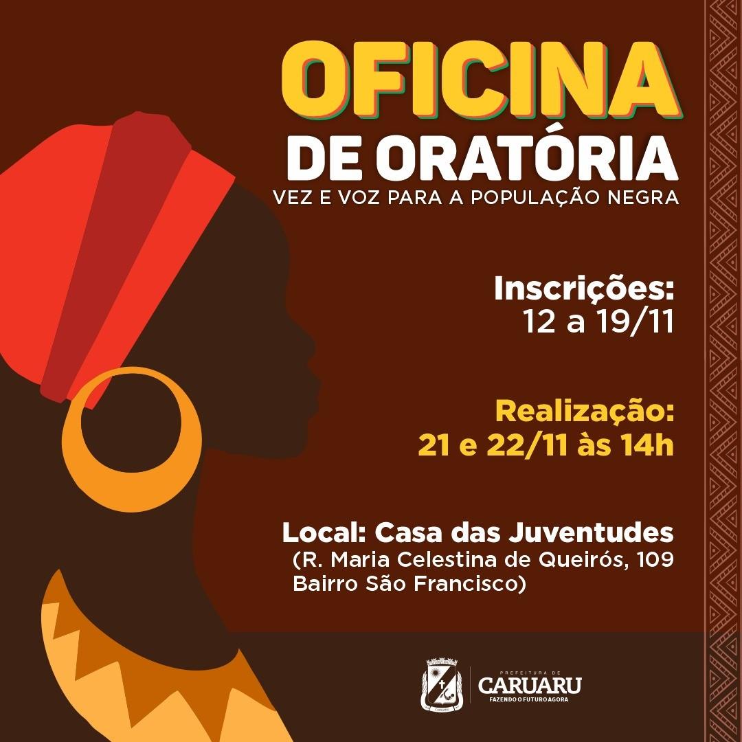 Prefeitura de Caruaru oferece oficina de oratória - Notícias - Plantão Diário