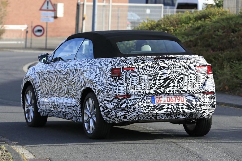 Volkswagen T-Roc versão conversível (Foto: Automedia)