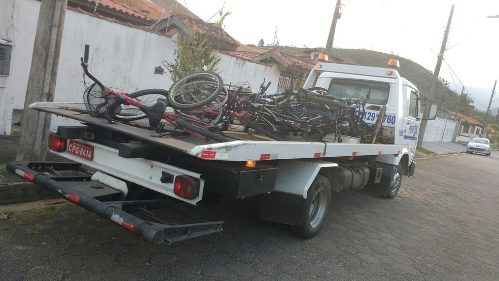 Vítima acha bike roubada à venda na web, faz denúncia e suspeito é preso com cerca de 20 bicicletas  (Foto: Celso Faria/ Arquivo Pessoal)
