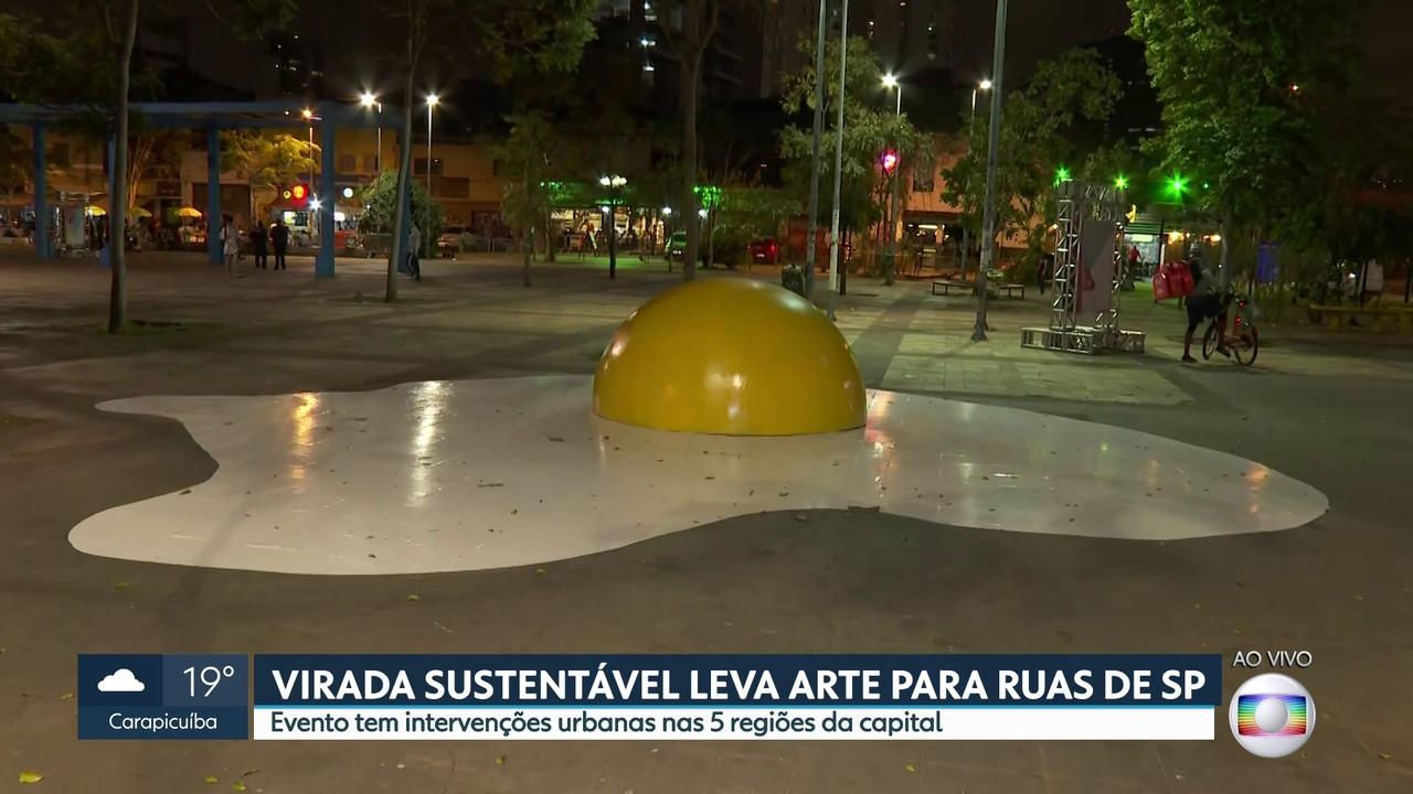 Virada Sustentável leva arte para as ruas de SP