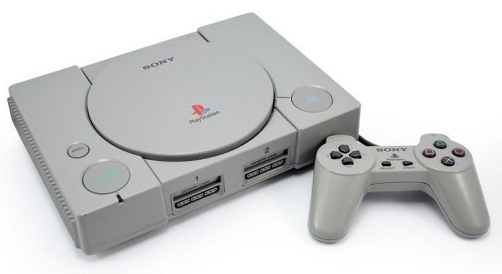 Primeiro PlayStation foi lançado no Japão — Foto: Divulgação