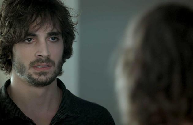 Na sexta (4), depois de descobrir o segredo de Ritinha, Ruy (Fiuk) dirá que vai se separar (Foto: Reprodução)